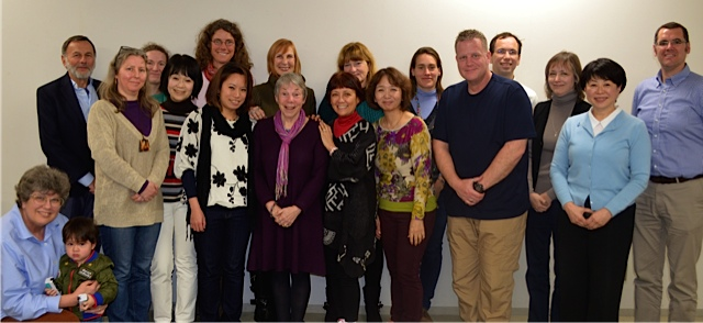 Patricia Lakin and SCBWI members